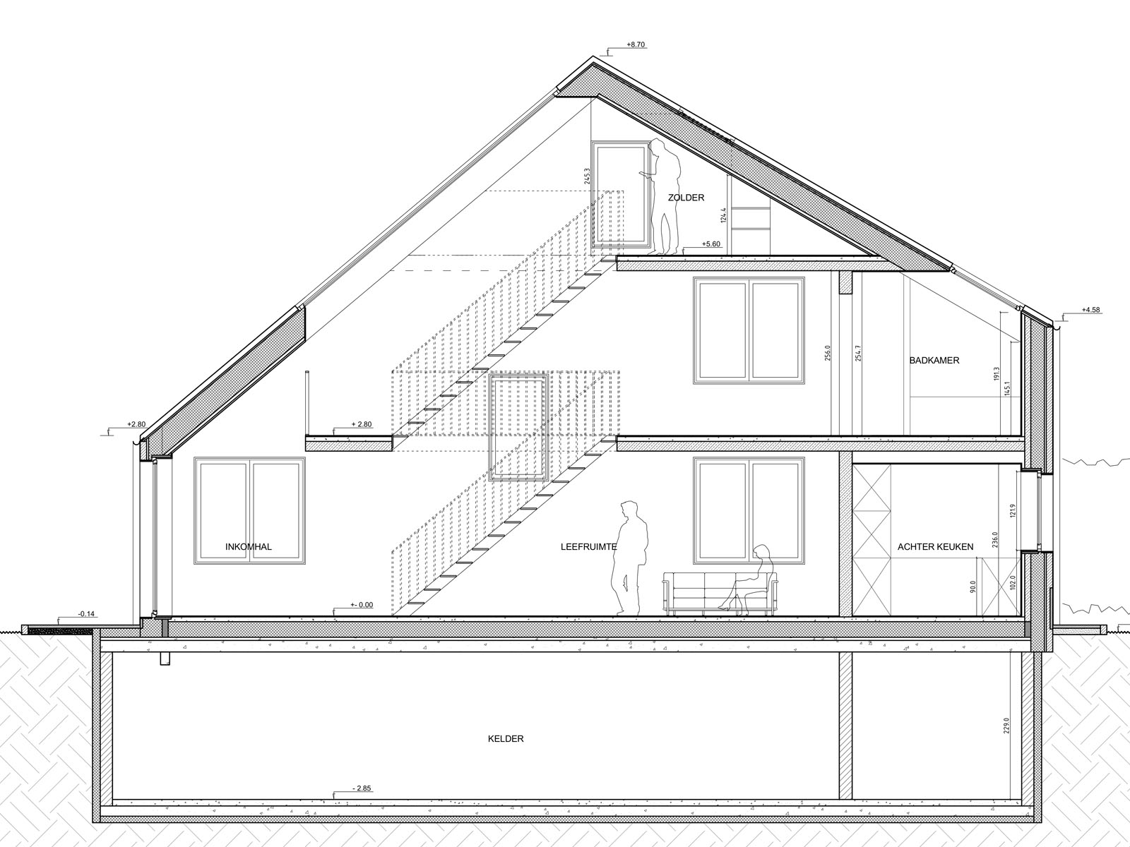 Responsible young architects for Projet maison construction