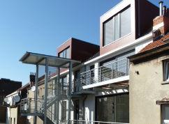 Construction d'un immeuble à appartement à Schaerbeek