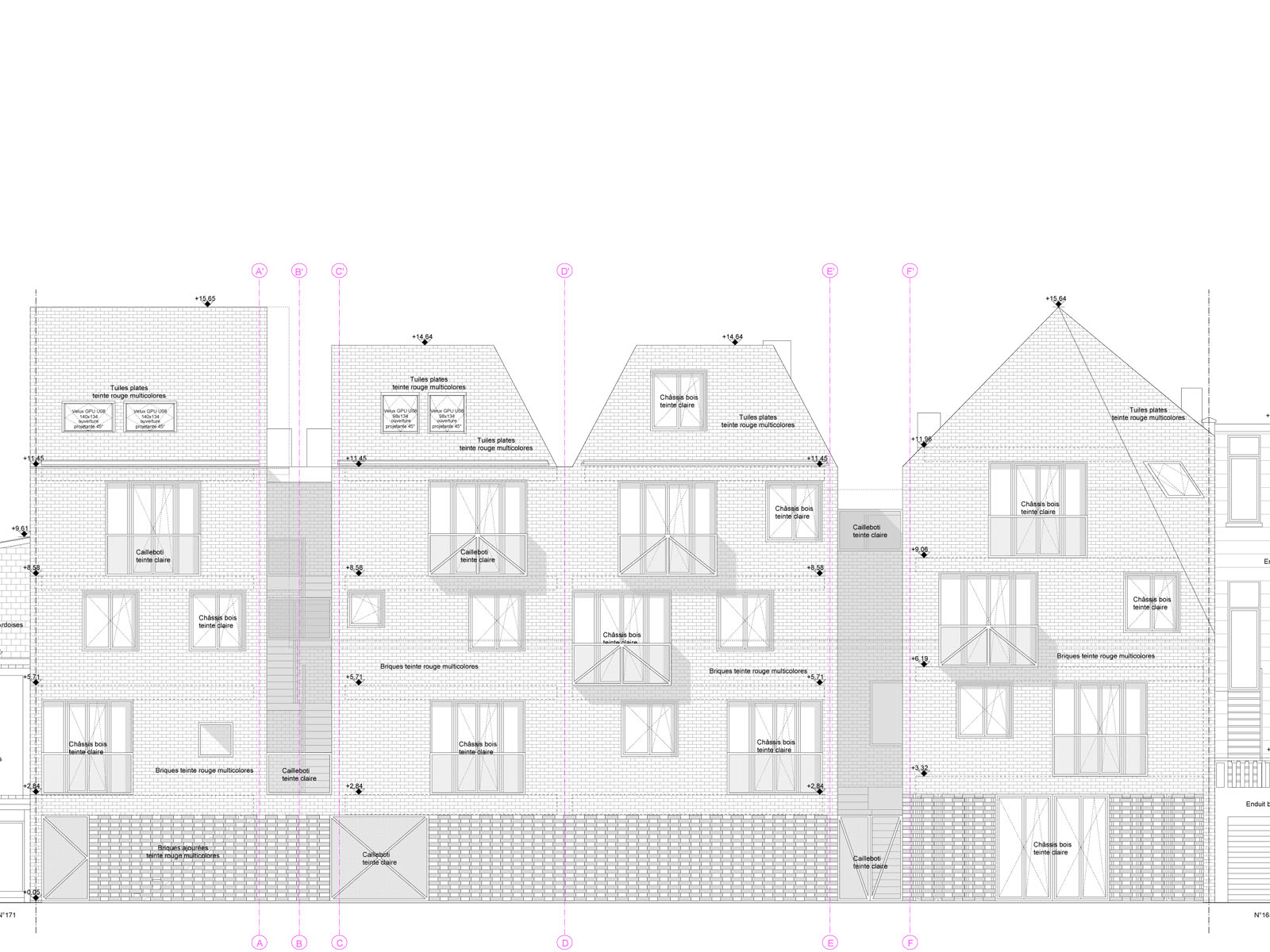 Construction d'un immeuble de logements à Ixelles