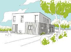Construction d'une maison basse-énergie à Hoeilaart