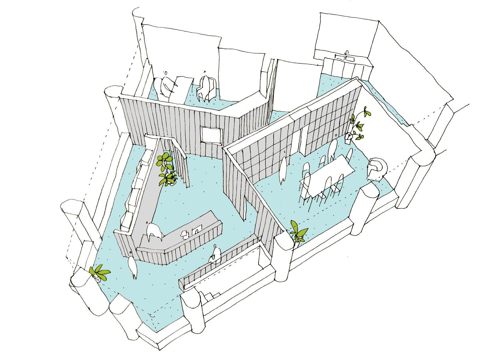 Aménagement de bureaux à Laeken