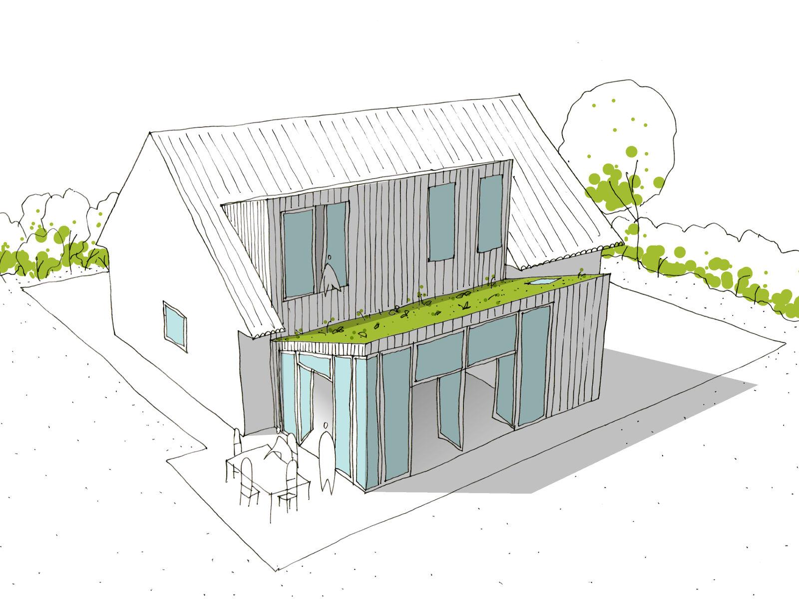 Rénovation basse énergie à Tervuren